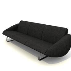 sofa 3places 3D Model