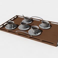 coffe plate 3D Model