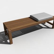 Banco 3D Model
