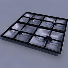 burner 3D Model