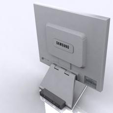 Samsung 172x LCD Monitor 3D Model