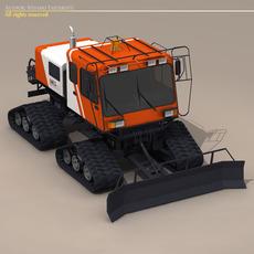 Snowcat 3D Model