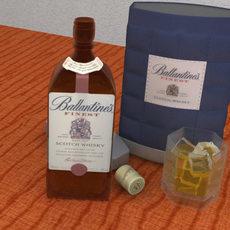 Ballantines 3D Model