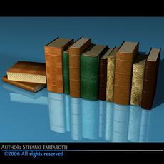 Old books 3D Model