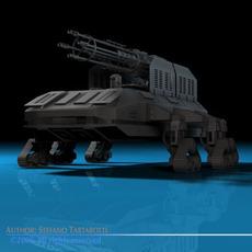 Guntank 3D Model