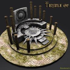 Temple of Sun 3D Model