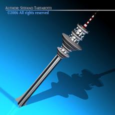 Communications tower 3D Model