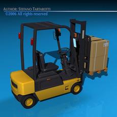 Forklift 2 3D Model