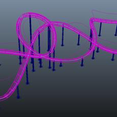 Duplicate Along Curve for Maya 1.4.4 (maya script)