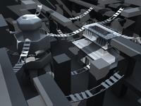 Escalation 3D Model