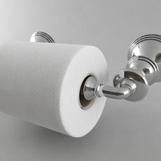 Toilet Paper Holder Style 2 3D Model