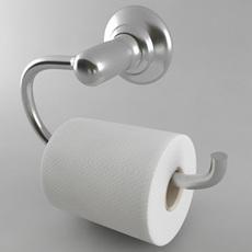 Toilet Paper Holder Style 1 3D Model