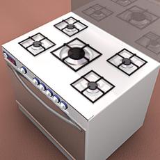 Oven 3D Model