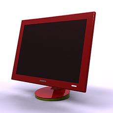 Samsung LCD 3D Model