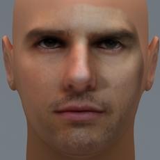 Tom Cruise 3D Model