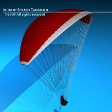 Paraglider 3D Model