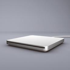 Macbook Air Superdrive 3D Model