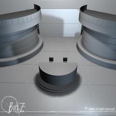 TV Set 2 3D Model