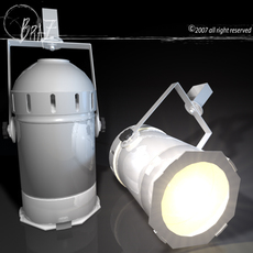 Stage light - Par 3D Model