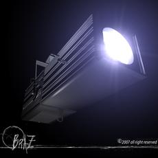 Stage light - Profile 3D Model