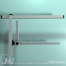 Drafting table tool 3D Model