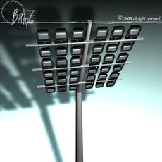 Arena lights 3D Model