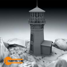 Light House 1 3D Model