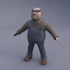 Character Bundle 3D Model
