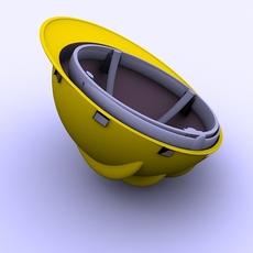 Safety Helmet (hardhat) 3D Model