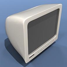 Fantasy Monitor 3D Model