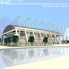 hockey stadium 3D Model