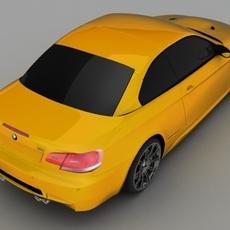 BMW M3 2008 E93 3D Model