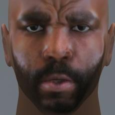 Mr. T 3D Model