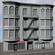 Appartment Building 3D Model