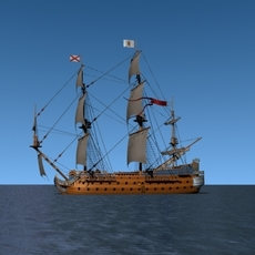 Galleon San Felipe 3D Model