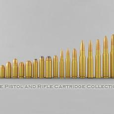 The Pistol and Rifle Cartridge Collection 3D Model