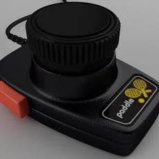 Paddle Controller 3D Model