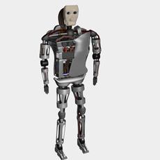 Robo character 3D Model