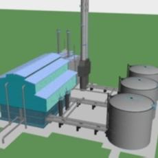 KIVACH Petrol Gas 3D Model