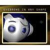 00 13 50 232 robot 0000s 0000 eyebrows in any shape 4
