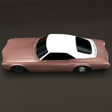 1969 Buick Riviera *Textured* 3D Model