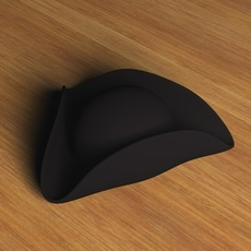 Three Cornered Hat.zip 3D Model