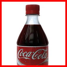 Coca Cola 1L-2L Bottle 3D Model