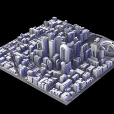 City District III 3D Model