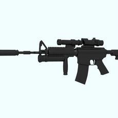 M16 Carbine 3D Model