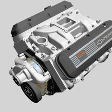 Chevrolet Big Block V8 Engine 3D Model