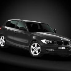 2008 BMW 1 Series 3D Model