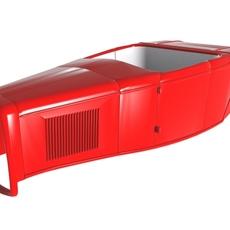 1932 Roadster Body Shell 3D Model