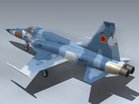 F-5E Tiger II (Red 05) 3D Model