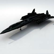 SR71-Blackbird_GameModel 3D Model